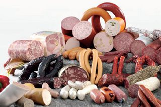 Sausage range, small-scale butchers