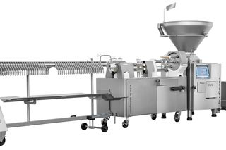 AL PVLSH 229 sausage filling and cutting/hanging line