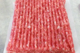 Minced meat block