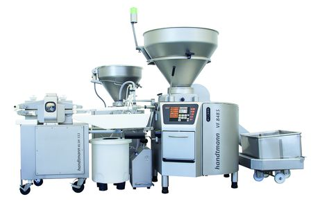 KLSH 153 ConPro system for products in alginate casing