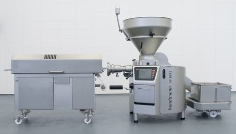 Complete GMD 99-3 minced meat line with feeding