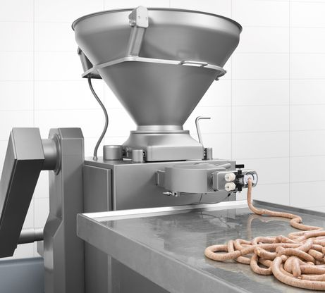 Sausage production with VF 612 K