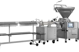 AL PLSH 217 sausage filling and cutting/hanging line