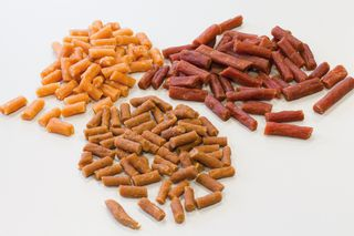 Pet food pellets