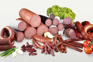 Sausage and meat product