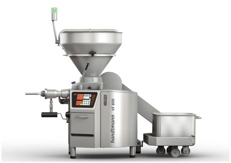VF 800 with GD 451 inline grinding system