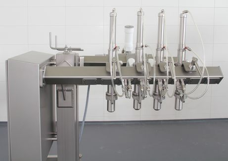 4-way filling flow divider