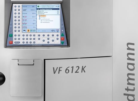 VF 612 K with compact control system