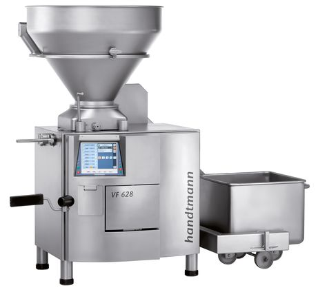 Vacuum filler for the industrial producer