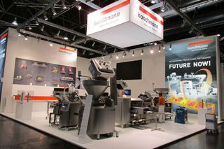 Handtmann Messestand auf der interpack 2017