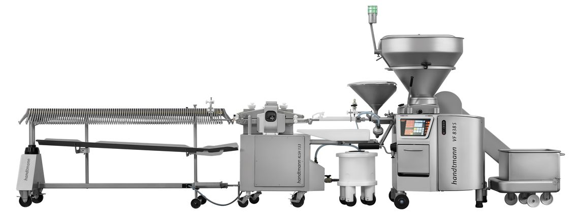 ConProCompact system for products in alginate or natural casing