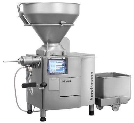 VF 600 with GD 93-3 inline grinding system and gristle separator