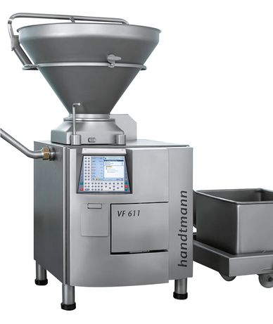 Vacuum filler for the medium-scale and industrial producer