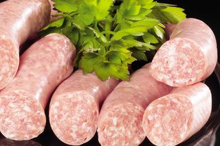 Coarse fresh sausage