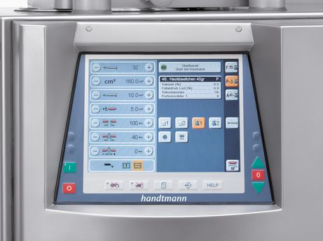 VF 600 monitor control with touchscreen