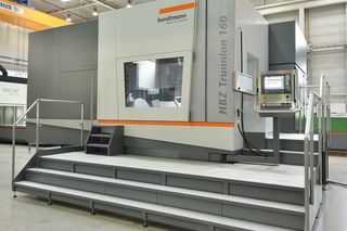 Handtmann HBZ Trunnion 160 live auf der AMB - HBZ Trunnion 160