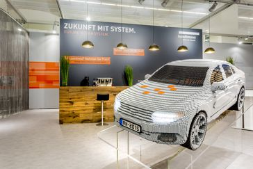Handtmann Lego car at IAA 2015