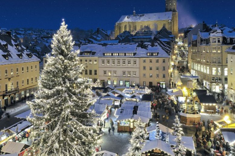 Christmas market in Annaberg