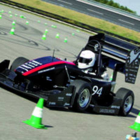 Lauramid<sup>®</sup> high-tech material meets all expectations in Formula Student
