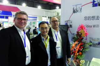 Complete success: In 2015, Handtmann Elteka has a stand at the SWOP in China for the first time