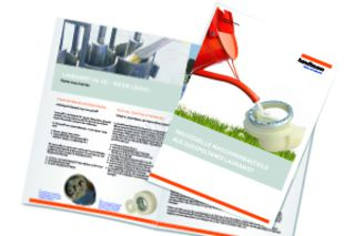 "Go to the download: ""Individual machine components with cast polyamide"" whitepaper"