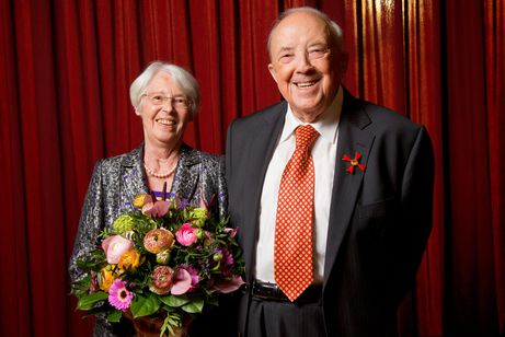 Presentation of the Order of Merit of the Federal Republic of Germany: Arthur und Ilse Handtmann