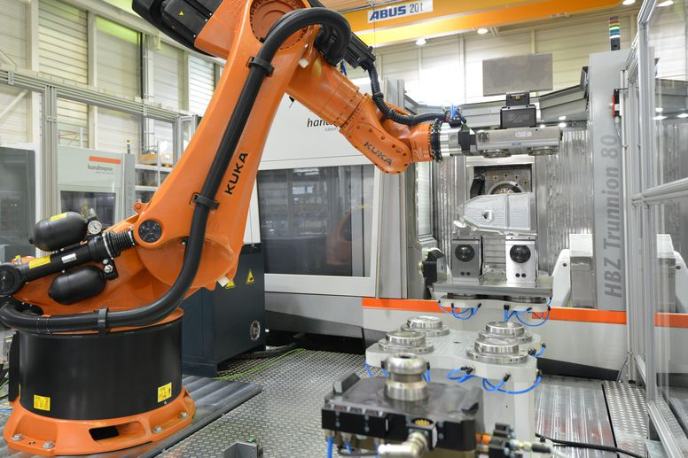 HBZ Trunnion 80 - mit SINUMERK-basierter Roboterautomation