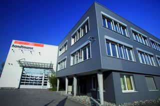 Headquarters of Handtmann A-Punkt Automation GmbH in Baienfurt, Germany