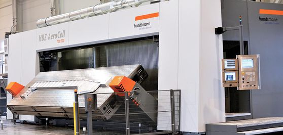 5-axis HBZ AeroCell horizontal machining centre