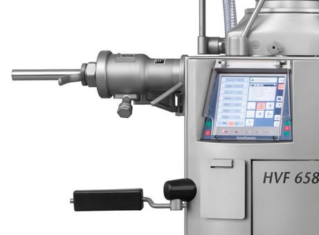HVF 658 with inline grinding system
