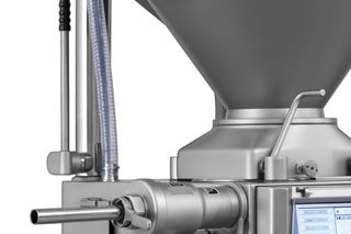 Integrated inline grinding system