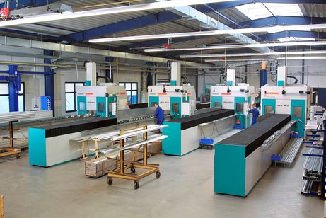 Profile machining centre assembly