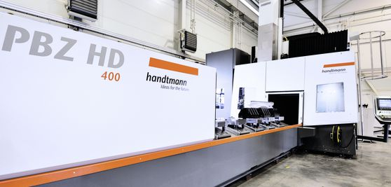 5-axis PBZ HD profile machining centre