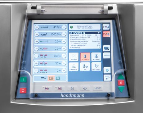 Monitor touch control HVF