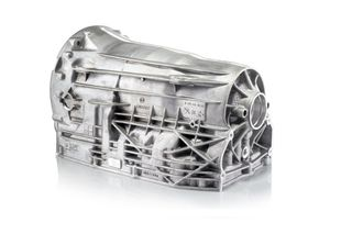 Magnesium transmission housing for automatic transmission