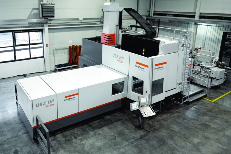 UBZ – 5-axis universal machining centre