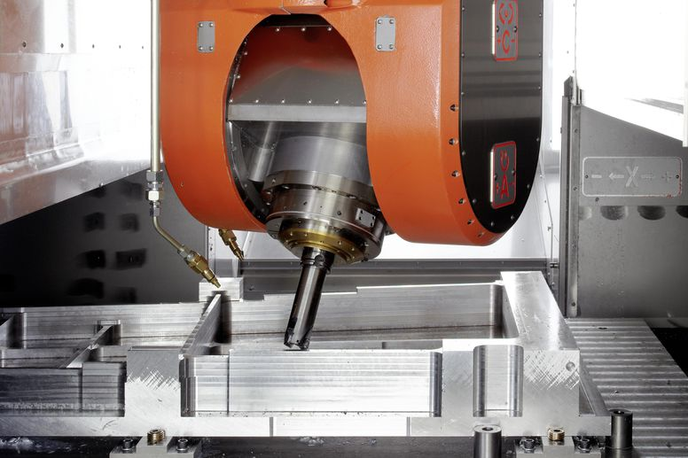 UBZ – 5-axis machining