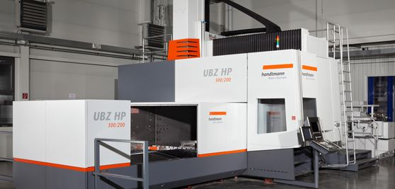 5-axis UBZ HP universal machining centre