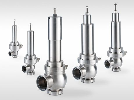 Safety valves nominal diameters