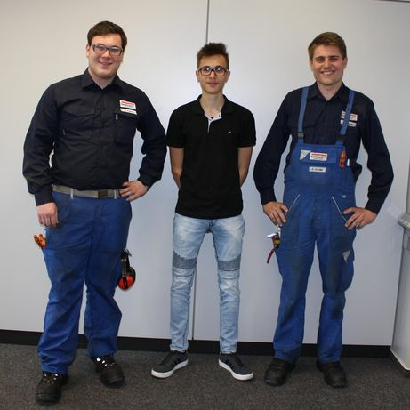 "The award-winning ""Energy Scouts"" (from left to right): Tobias Tremp, Edin Havic, Achim Harder"