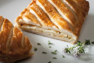 Puff pastry pocket