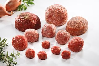 Minced meat products