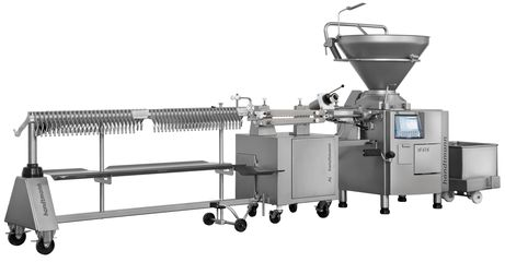 Sausage filling line for medium-scale and industrial producers