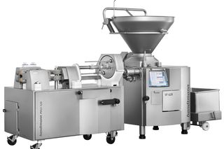 AL PVLS 125 sausage filling and cutting line